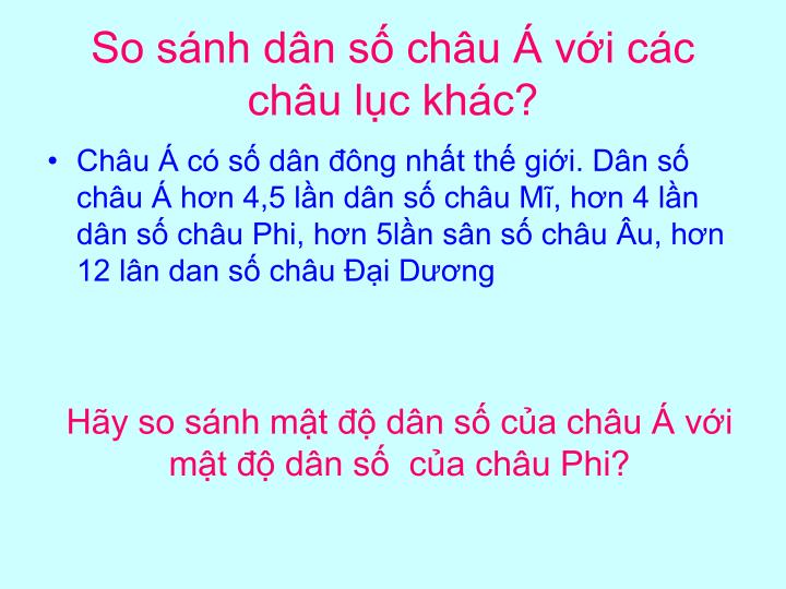 So snh dn s chu  vi cc chu lc khc?