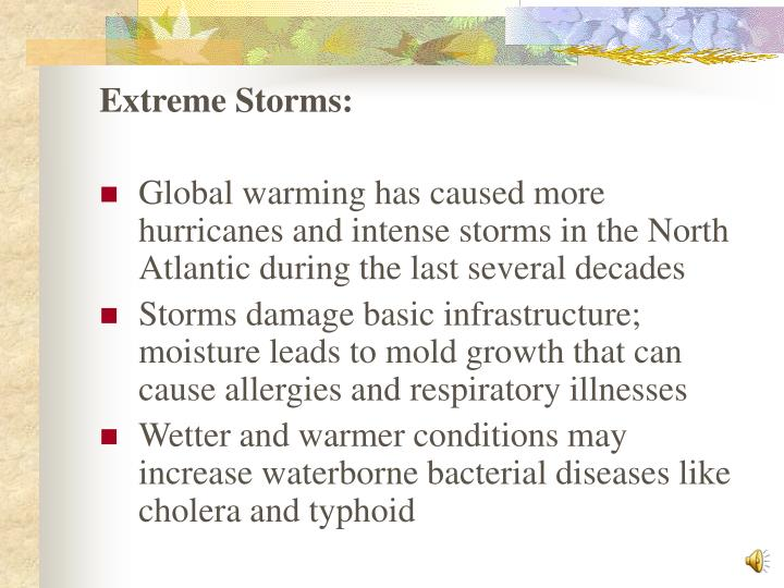 Extreme Storms:
