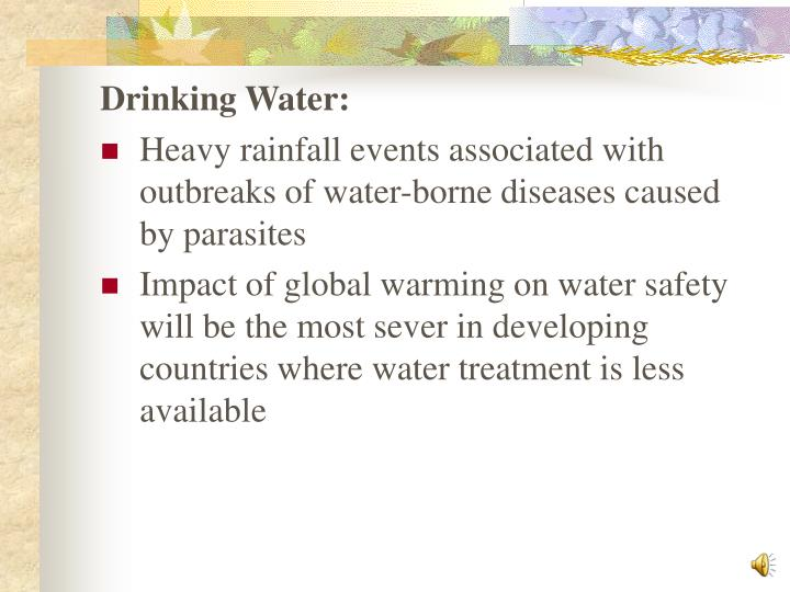 Drinking Water: