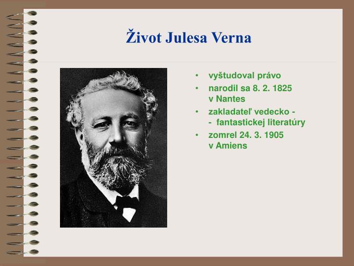 Život Julesa Verna