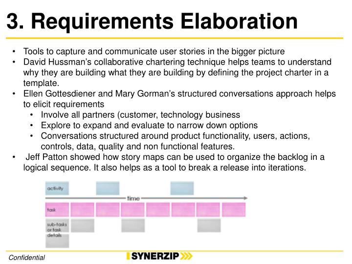 3. Requirements Elaboration