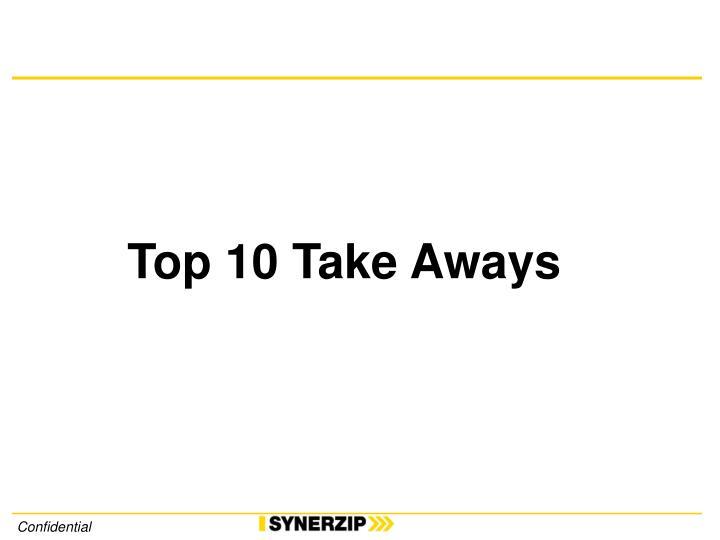 Top 10 Take