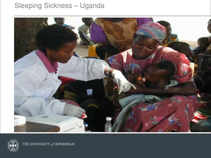 Sleeping Sickness – Uganda