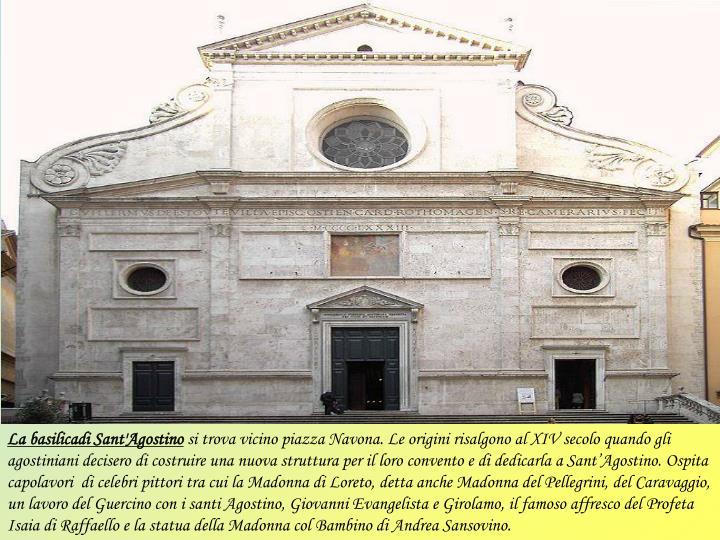 La basilicadi Sant'Agostino