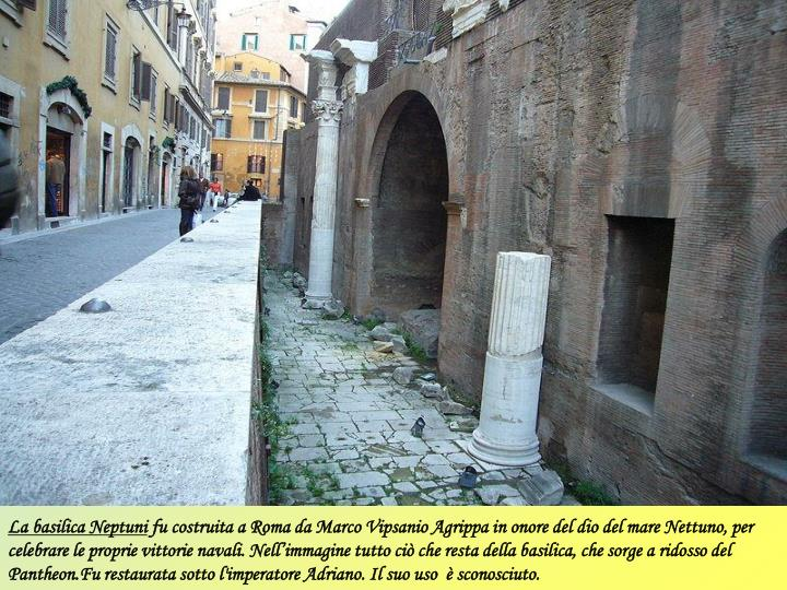 La basilica Neptuni