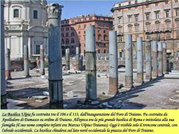La Basilica Ulpia