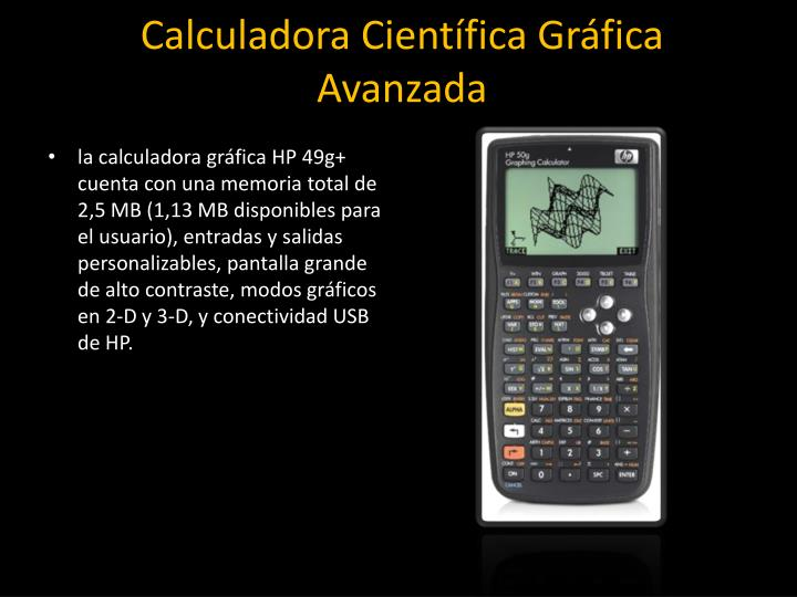 Calculadora Científica Gráfica Avanzada
