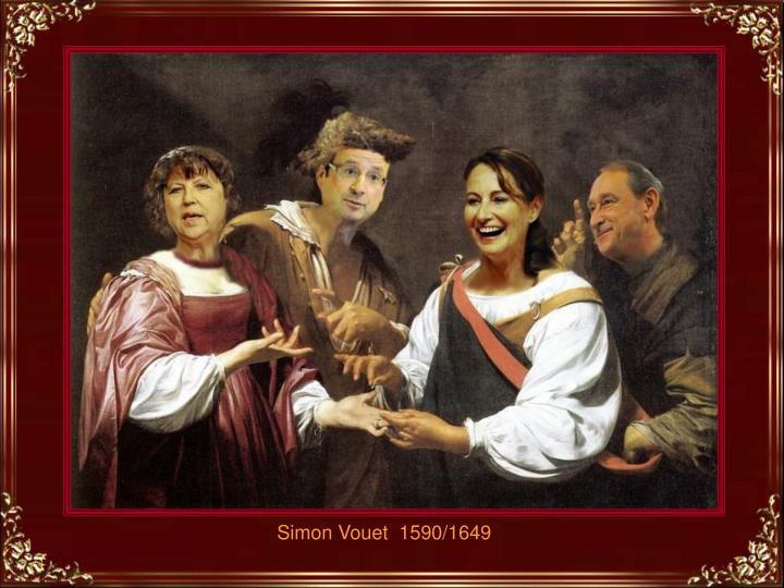 Simon Vouet  1590/1649