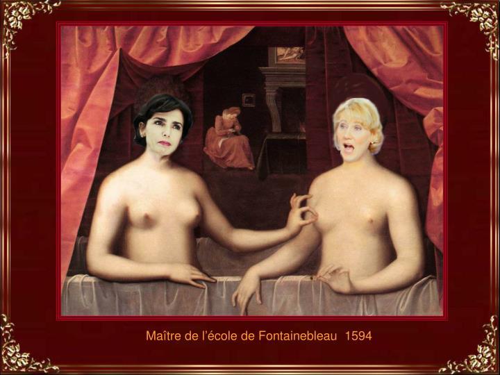 Maître de l'école de Fontainebleau  1594