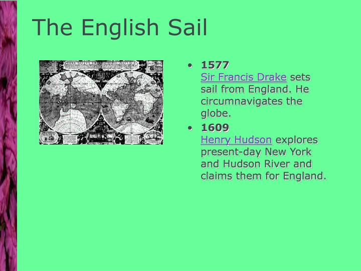 The English Sail