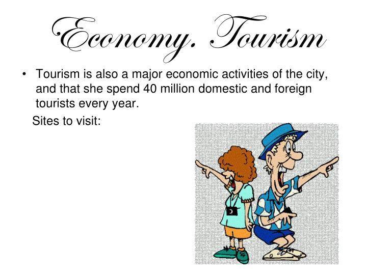 Economy. Tourism