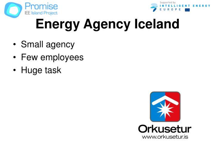 Energy Agency Iceland