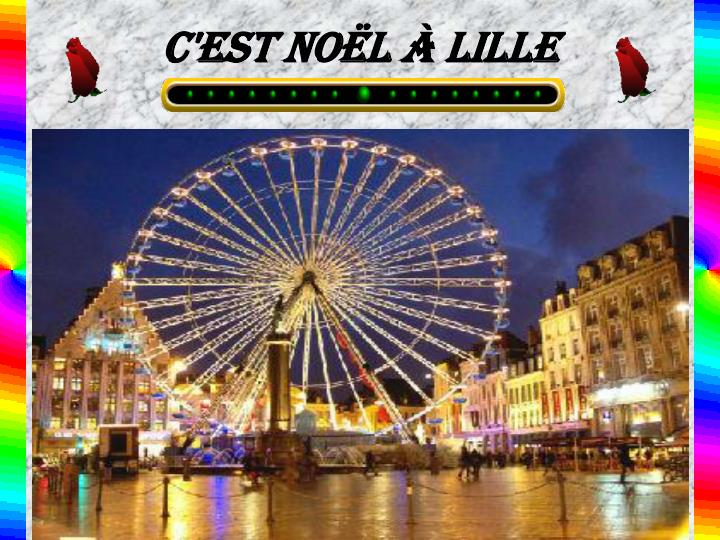 C'est Noël à Lille