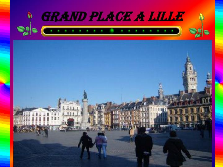 Grand place a lille