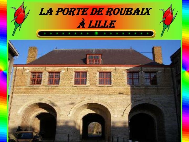 La porte de Roubaix