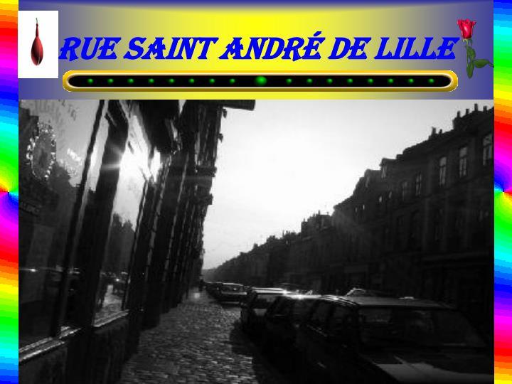 Rue Saint André de Lille