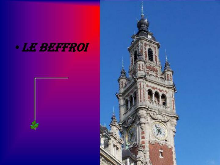 Le Beffroi