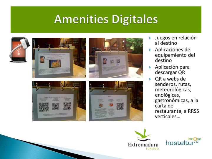 Amenities Digitales