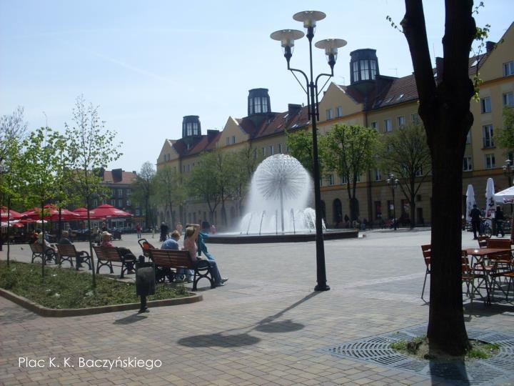 Plac K. K. Baczyńskiego