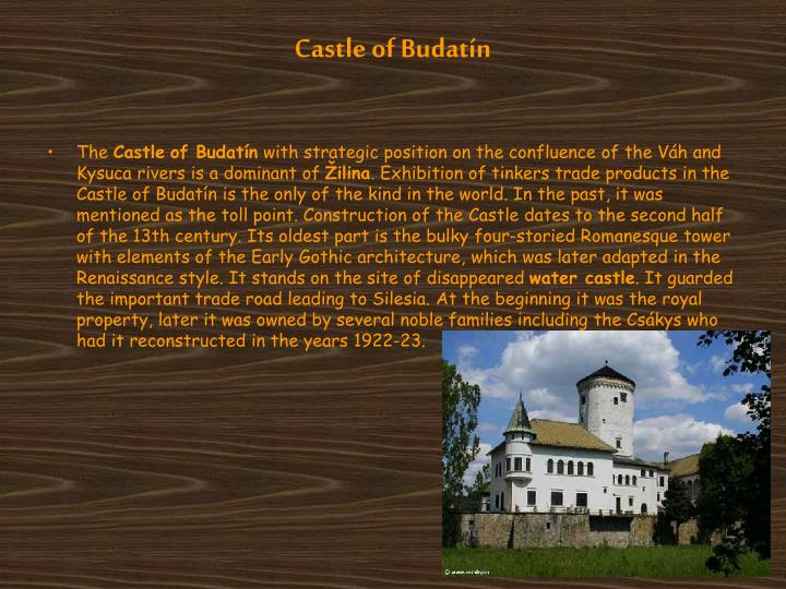 Castle of Budatín