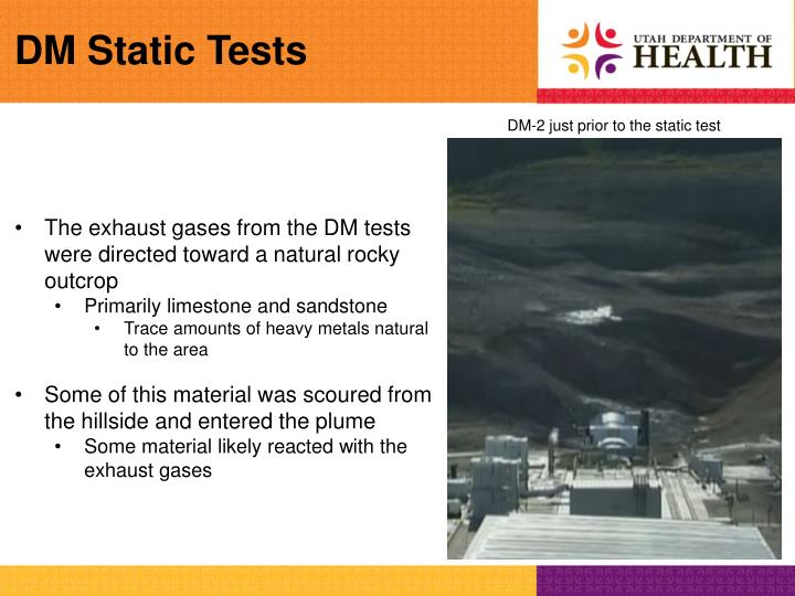 DM Static Tests