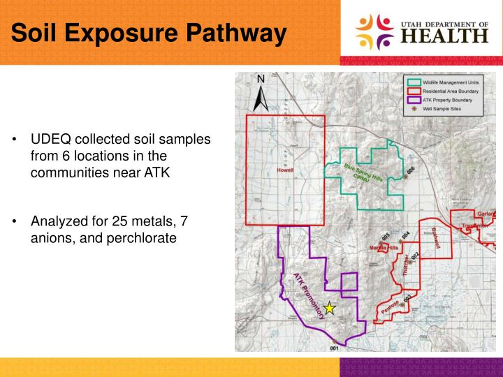 Soil Exposure Pathway