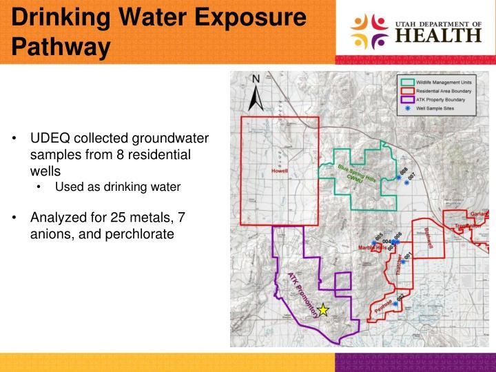 Drinking Water Exposure Pathway