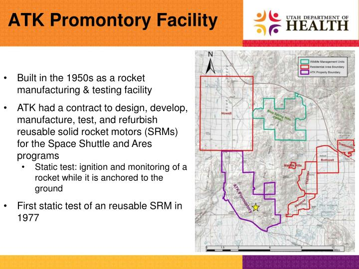 ATK Promontory Facility
