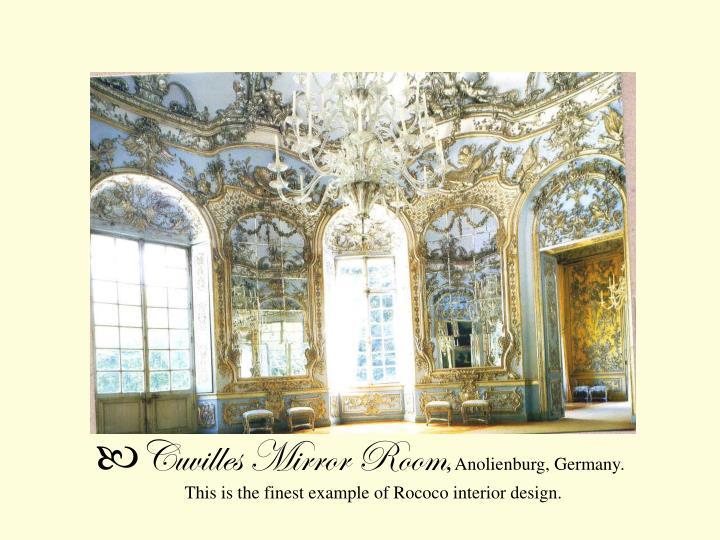 Cuvilles Mirror Room