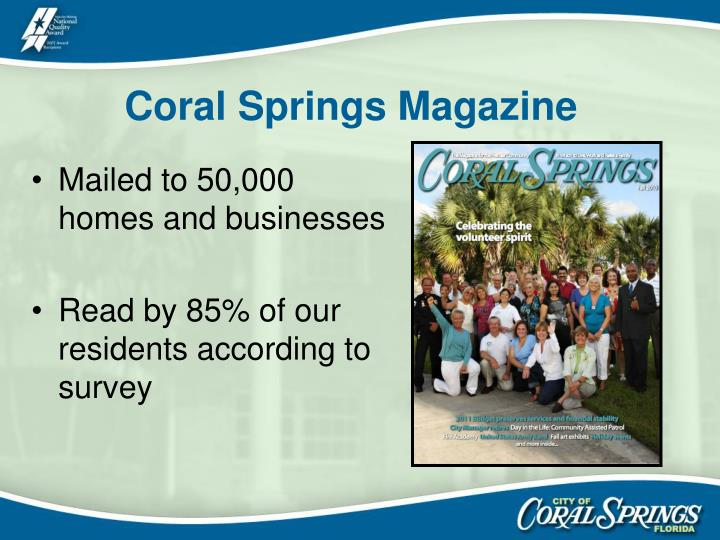 Coral Springs Magazine