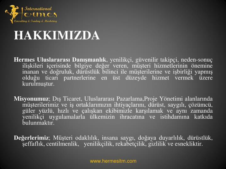 HAKKIMIZDA