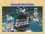 exmouth real estate