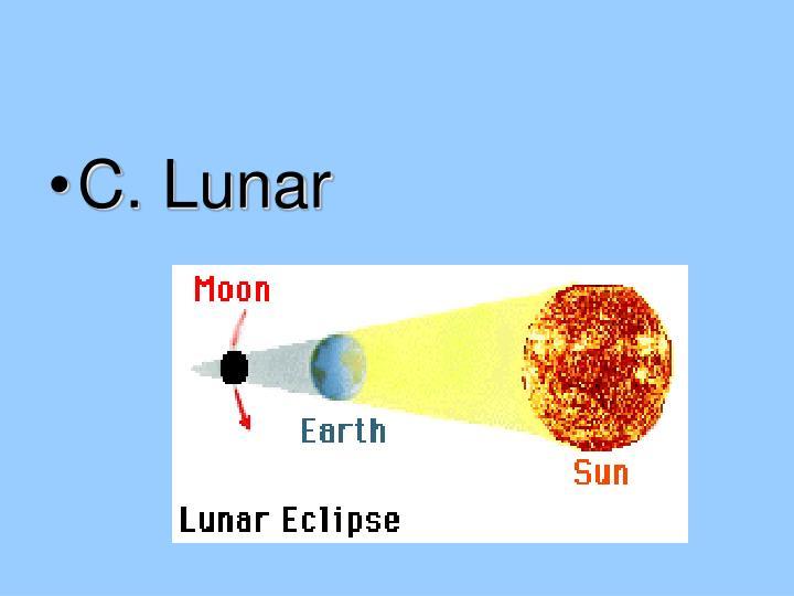 C. Lunar