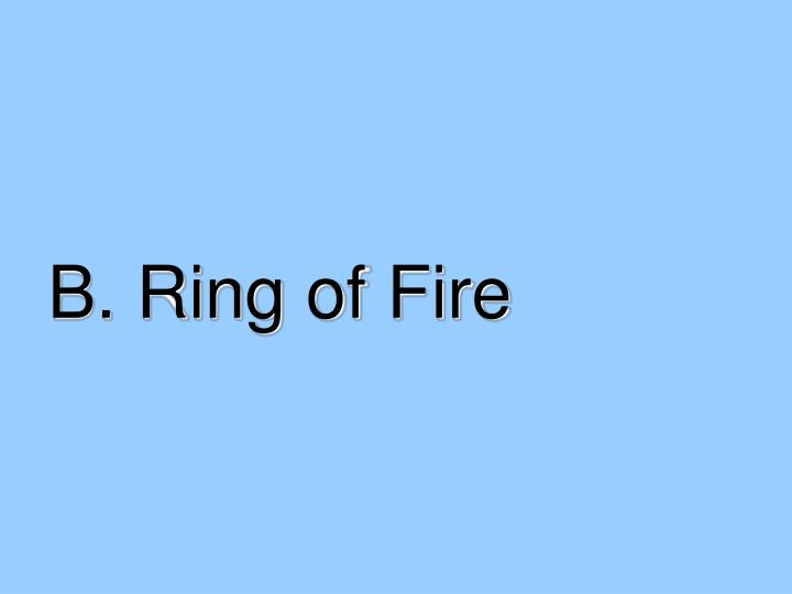 B. Ring of Fire