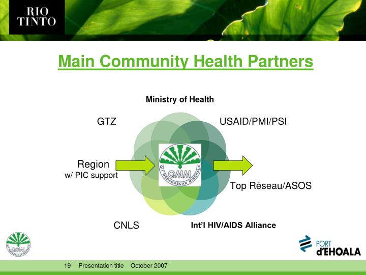 Main Community Health Partners