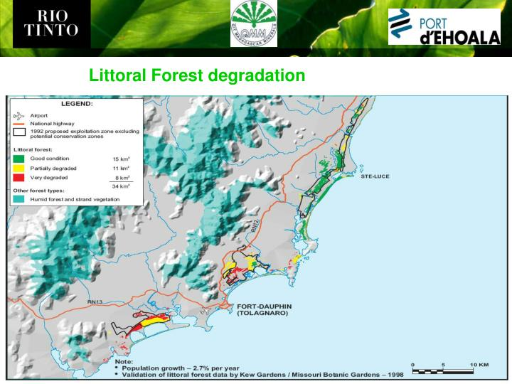 Littoral Forest degradation