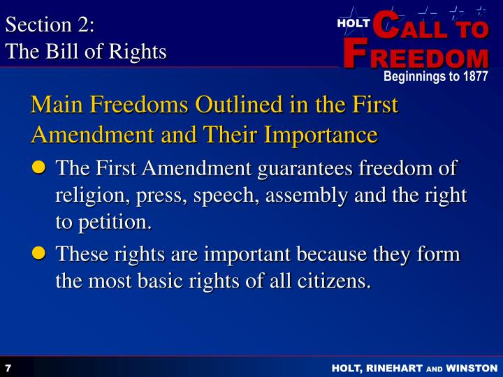 article 3 bill ofrights The bill of rights.