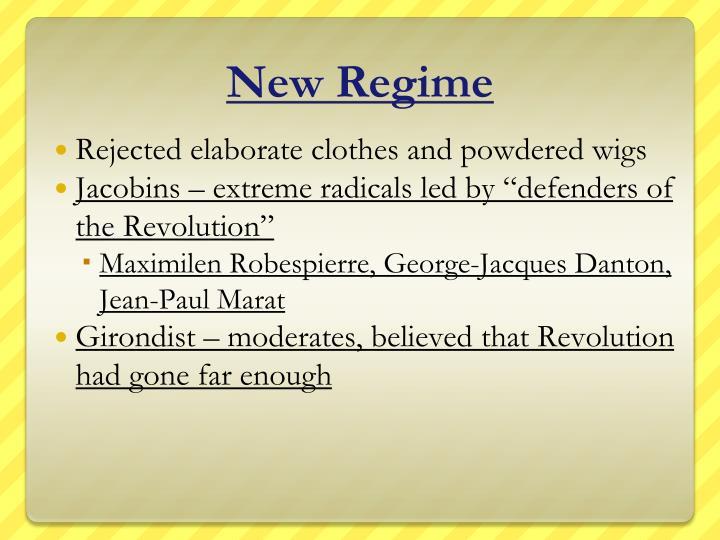 New Regime