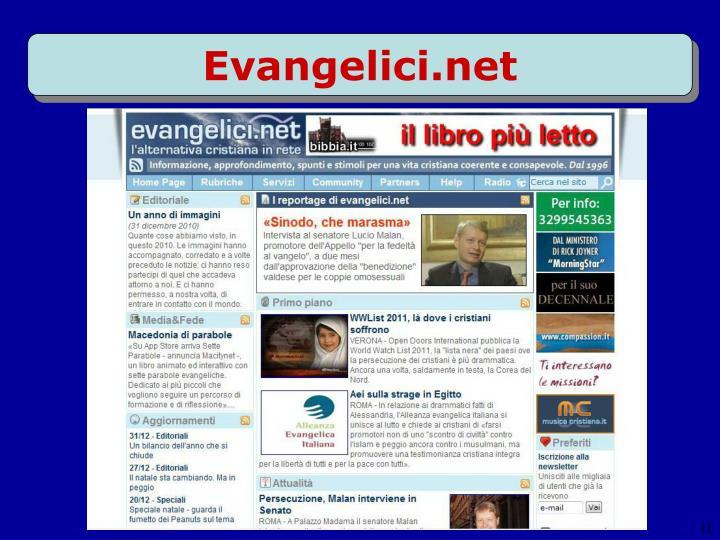 Evangelici.net