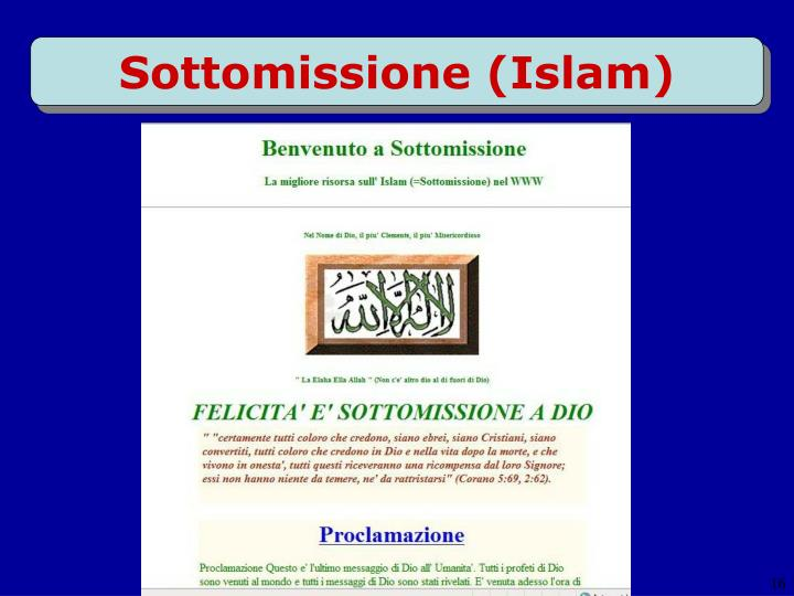 Sottomissione (Islam)