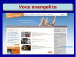 voce evangelica