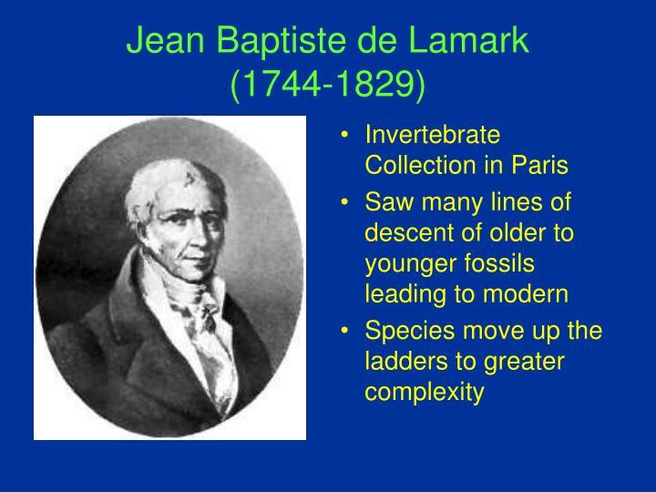 Jean Baptiste de Lamark