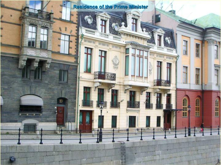 Residence of the Prime Minister