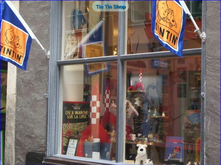 Tin Tin Shop
