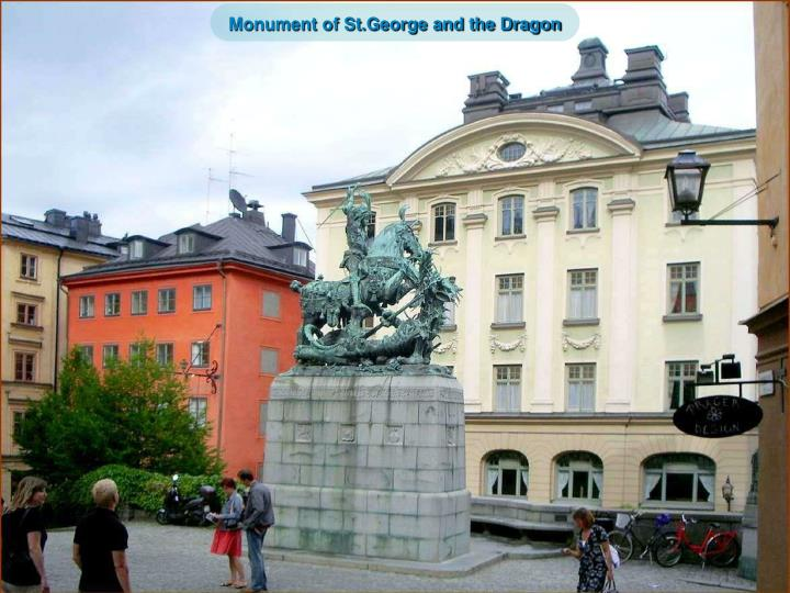 Monument of St.George and the Dragon