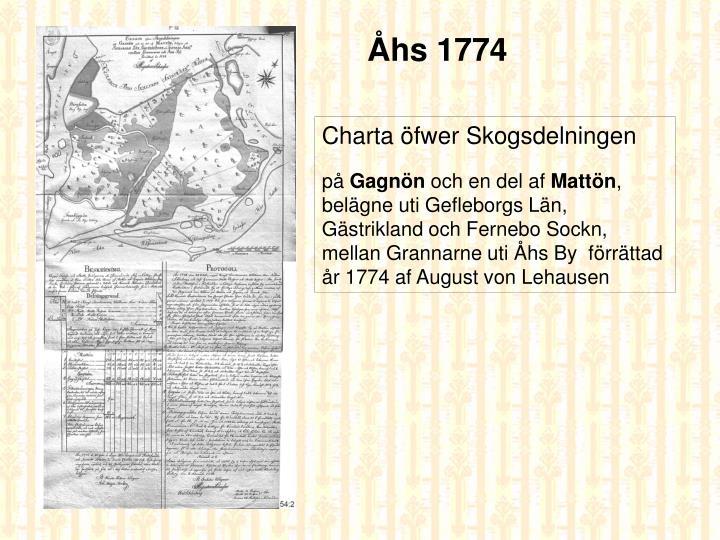 Åhs 1774