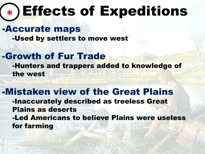 Effects of Expeditions
