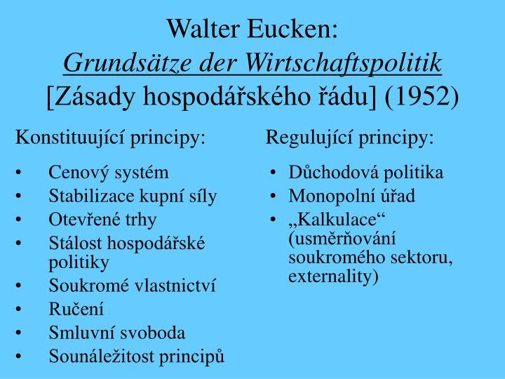 Walter Eucken: