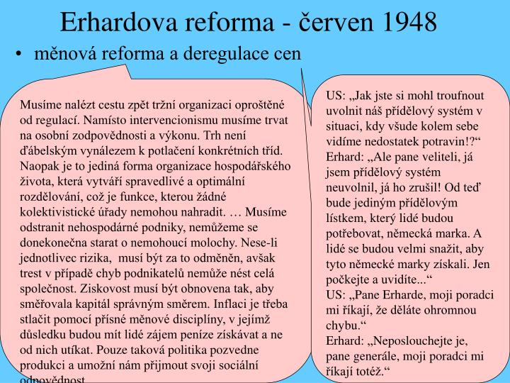 Erhardova reforma - červen 1948
