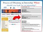 process of obtaining an internship where should you look for an internship1
